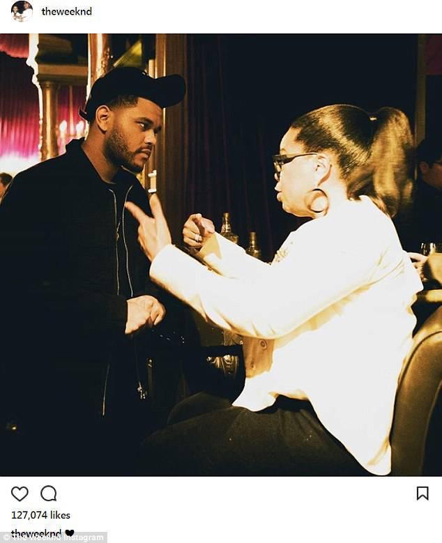 The Weeknd i Oprah Winfrey – 60 urodziny Ellen DeGeneres