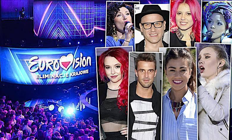 Eurowizja 2018 preselekcje kandydaci