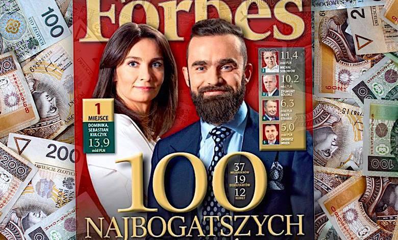 100 najbogatszych Polaków według Forbes. ranking
