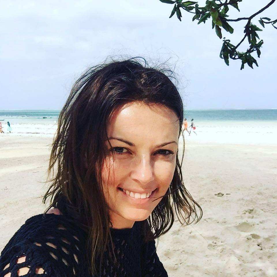 Kasia Glinka bez makijażu na wakacjach