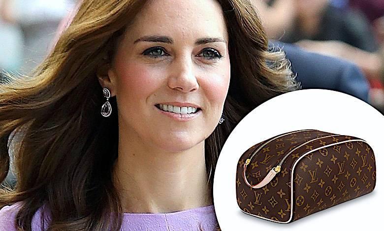 Księżna Kate kosmetyczka uroda