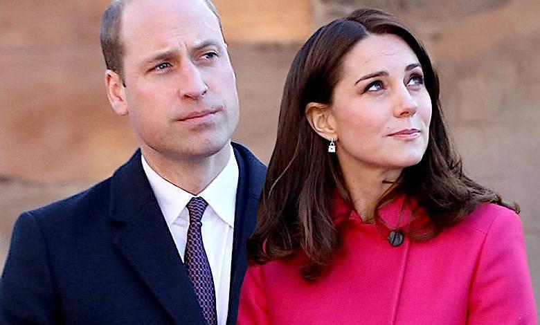 Księżna Kate uderzyła księcia Williama