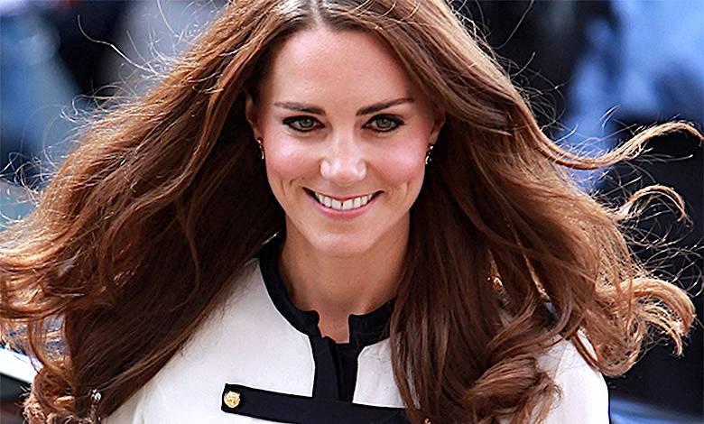 Kate księżna włosy