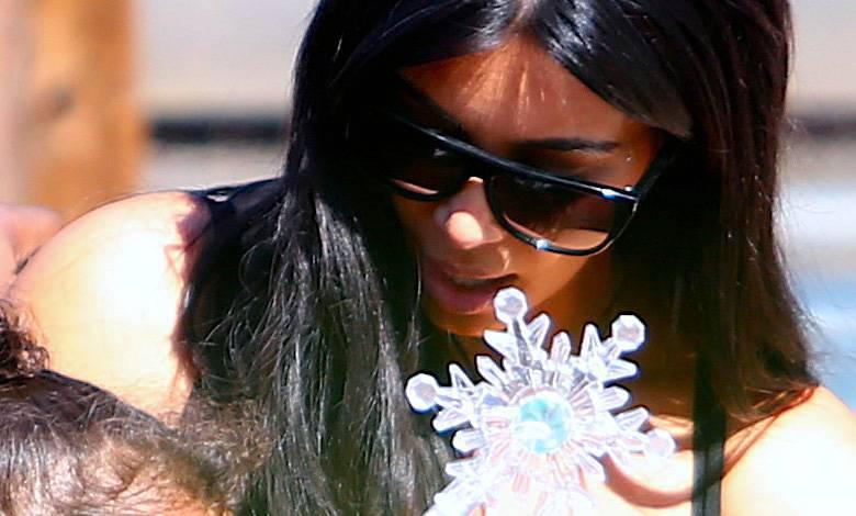 Kim Kardashian pierwsze zdjęcie Chicago West