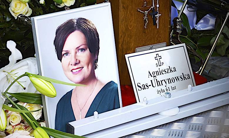 Agnieszka Kotulanka pogrzeb