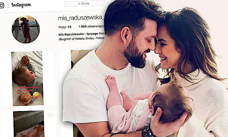 Mia Raduszewska Instagram, córka Natalii Siwiec