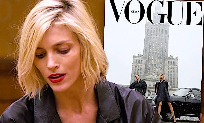 Anja Rubik o okładce Vogue Polska