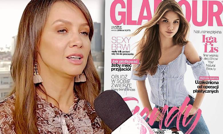 Kinga Rusin okładka Glamour