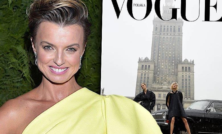 Kasia Sokołowska z okładką Vogue'a