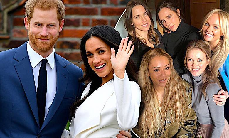 Spice Girls, książę Harry, Meghan Markle