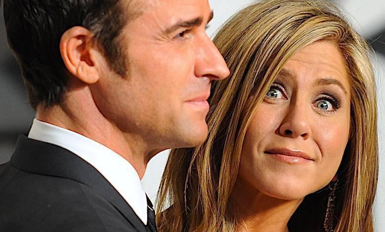 Justin Theroux i Jennifer Aniston mają kryzys