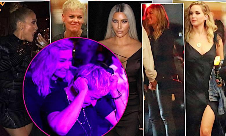 Gwiazdy na urodzinach Ellen DeGeneres