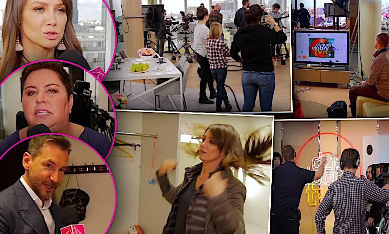 Dzień Dobry TVN studio od kulis