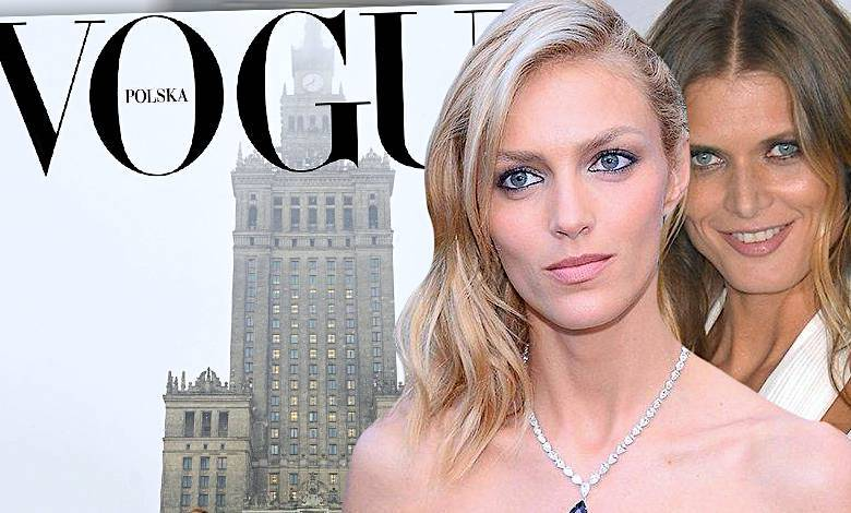 Anja Rubik, Małgorzata Bela, Vogue Polska