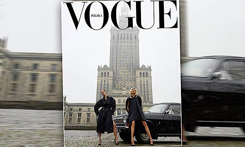 Vogue Polska okładka memy