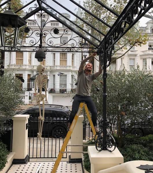 Dom w Londynie Victorii i Davida Beckham