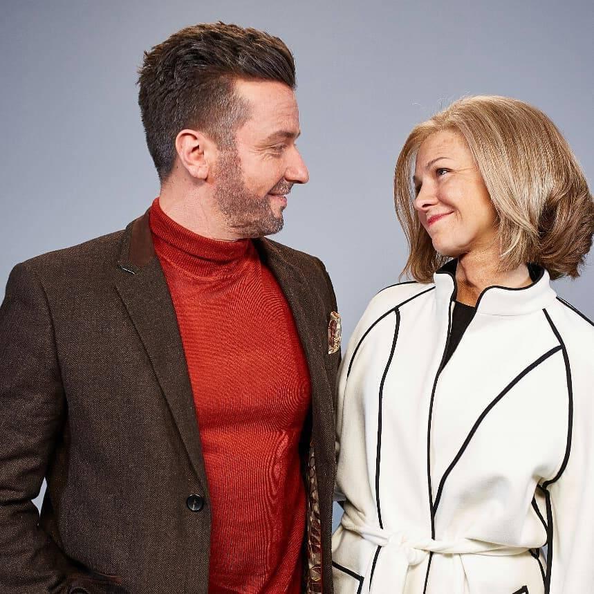 Barbara Kurdej-Szatan z mężem Rafałem w The Story Of My Life