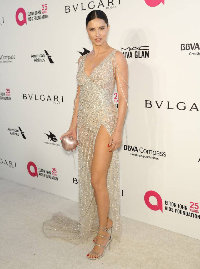 Adriana Lima – Elton John AIDS Foundation Academy Awards Party 2018