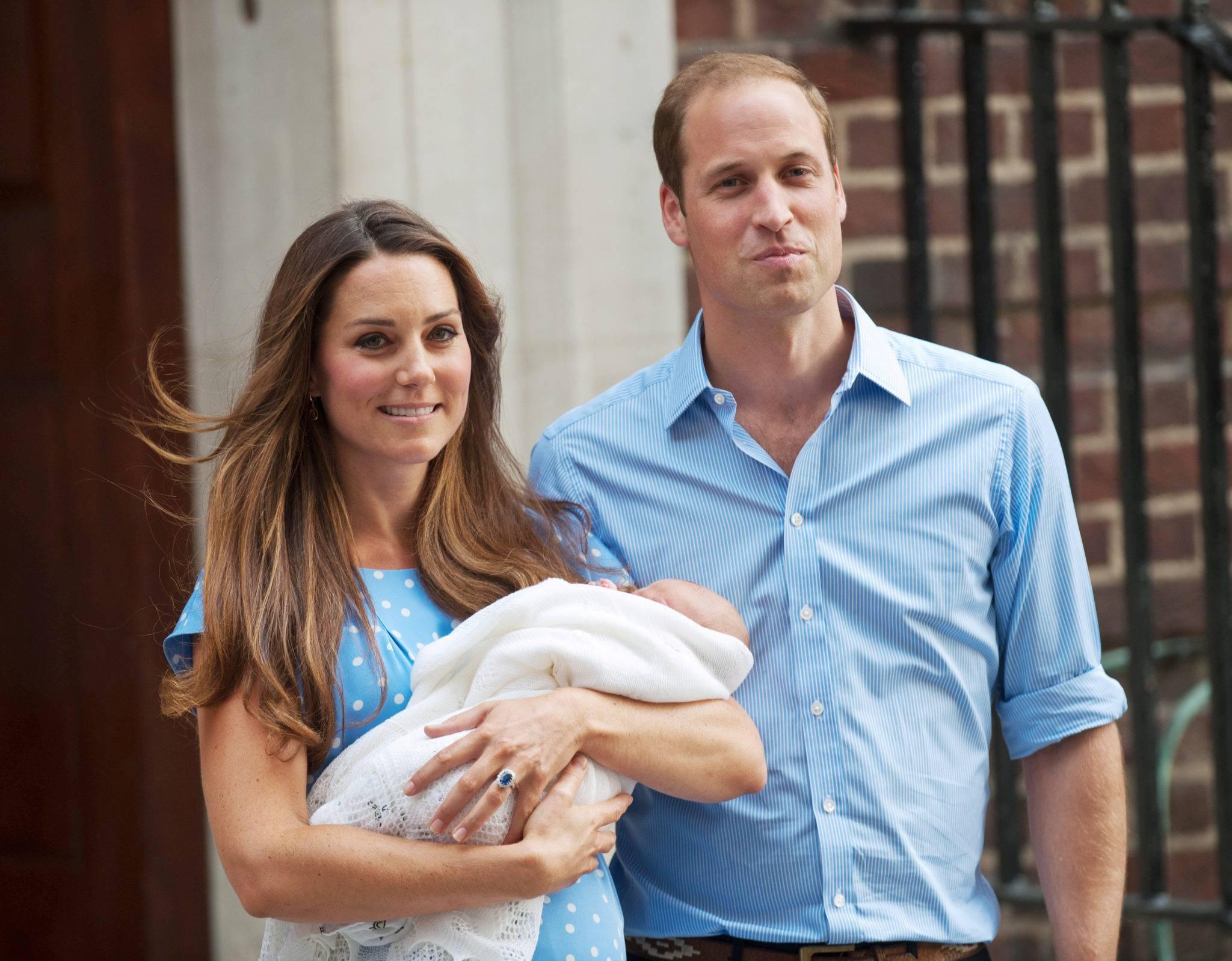Księżna Kate i książę William po narodzinach George'a – 2013 rok