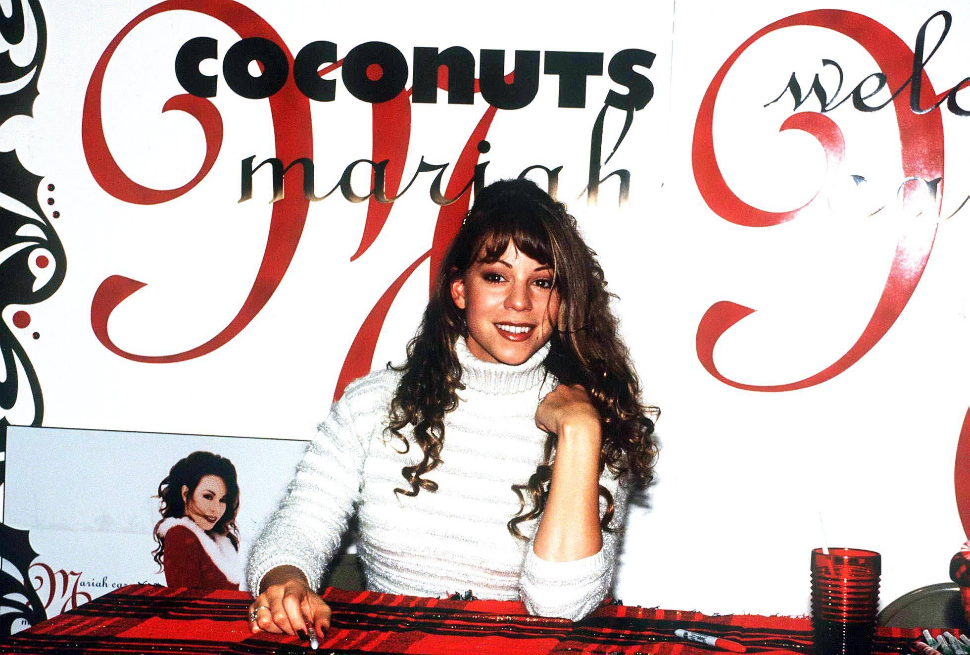 Mariah Carey w 1994 roku