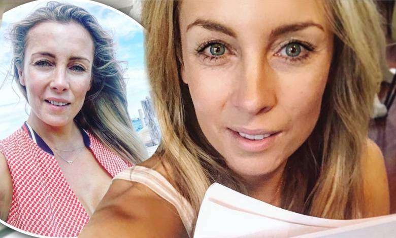 Karolina Ferenstein-Kraśko bez makijażu chwali się zgrabną sylwetką