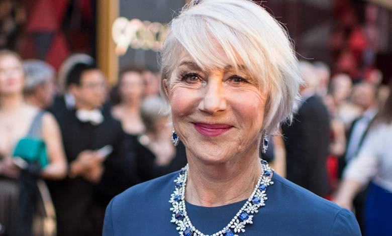 Helen Mirren pokazała się bez makijażu