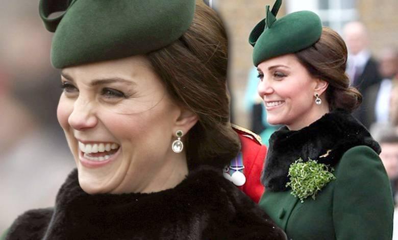 Księżna Kate w ciąży na obchodach St. Patrick's Day