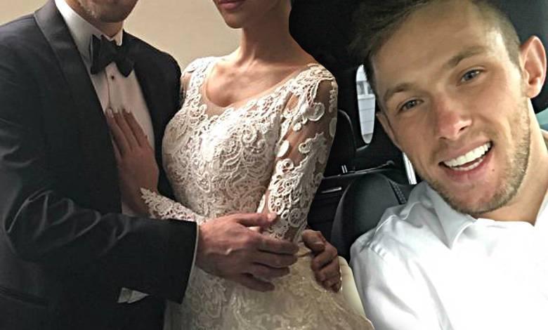 Maciej Rybus wziął ślub