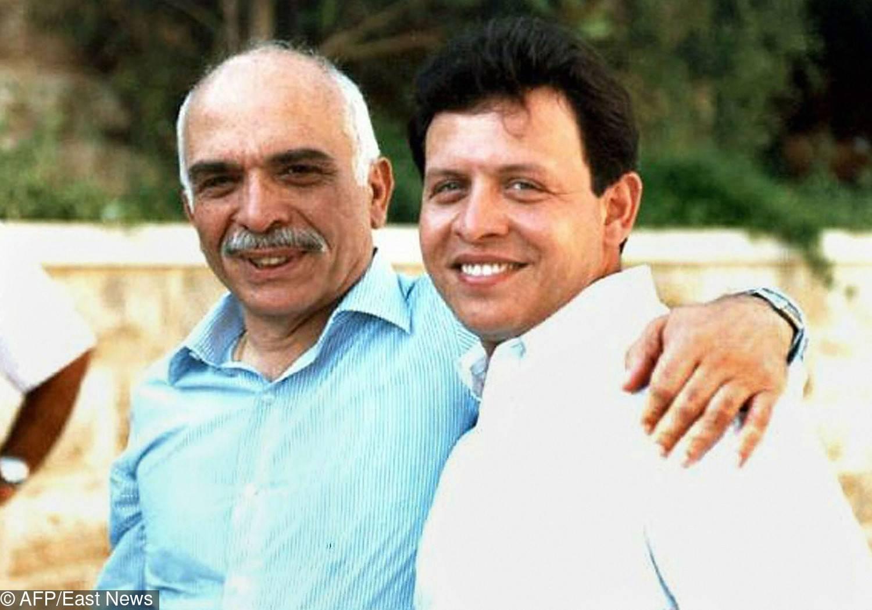Hussein Ben Abdallah – książę Jordanii (pierwszy z prawej)