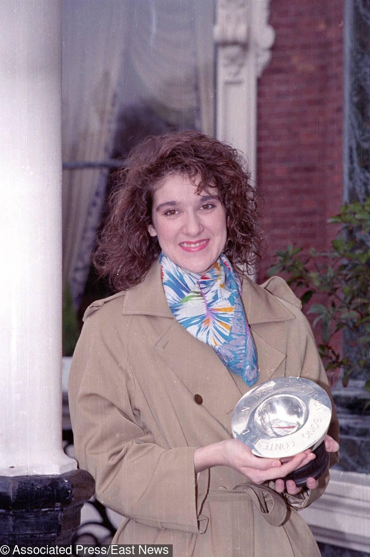Céline Dion z Grand Prix Eurowizji 1988