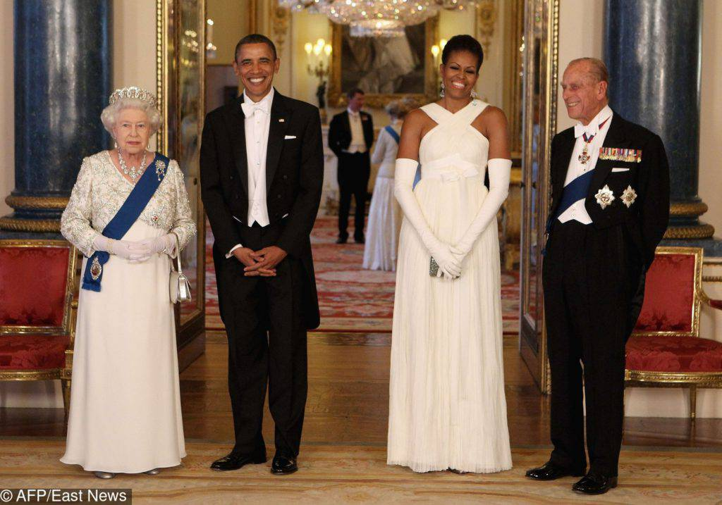 Michelle i Back Obama w Pałacu Buckingham – 2011 rok