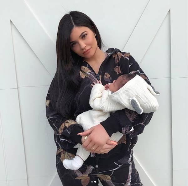 Kylie Jenner z córką Stormi