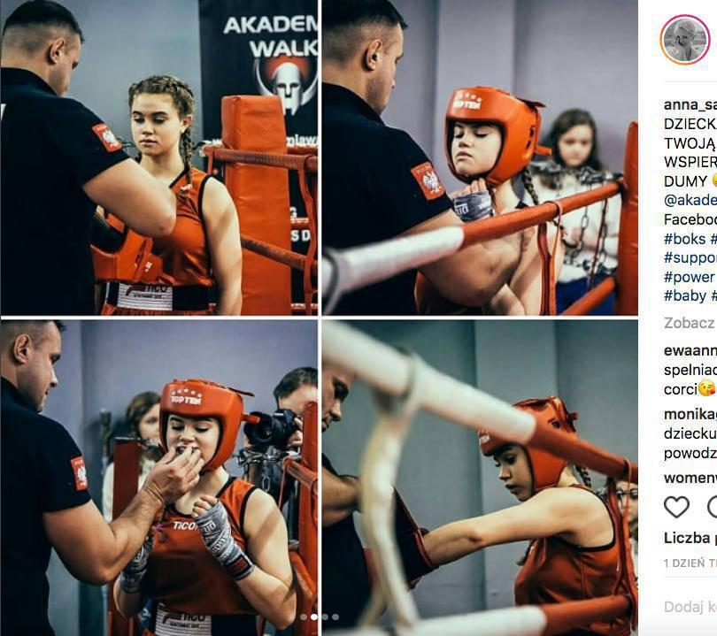 Angelina Zuber – córka Anny Samusionek wyrosła na śliczną dziewczynę