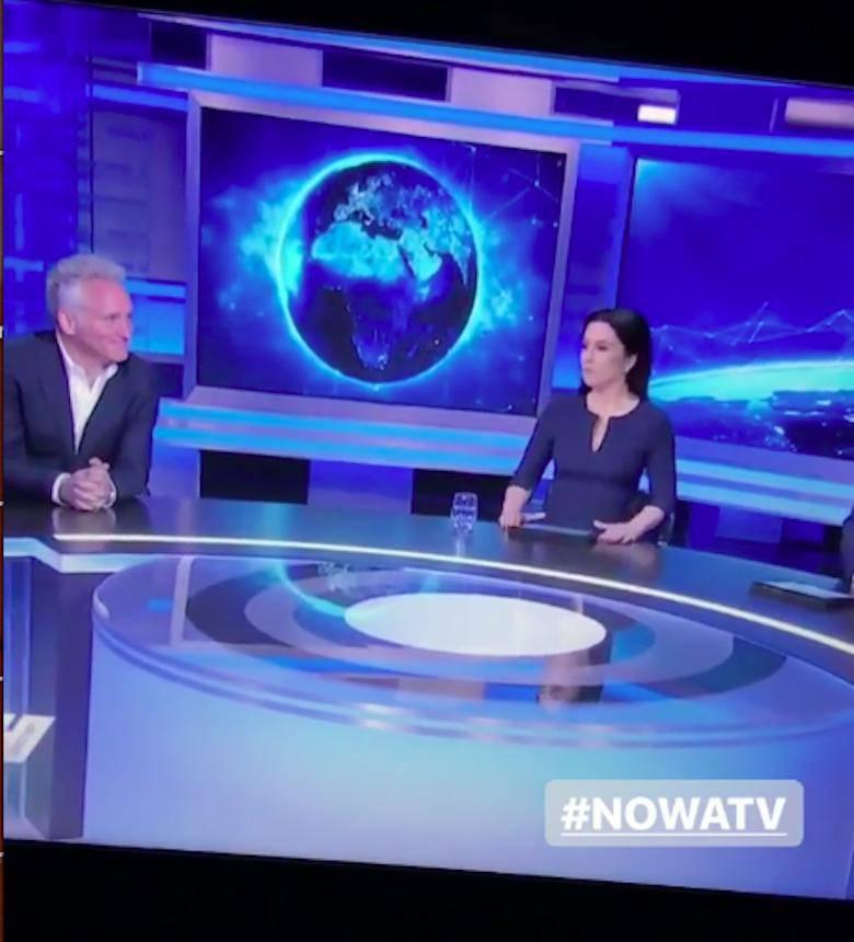 Beata Tadla i Jarosław Kret w Nova TV