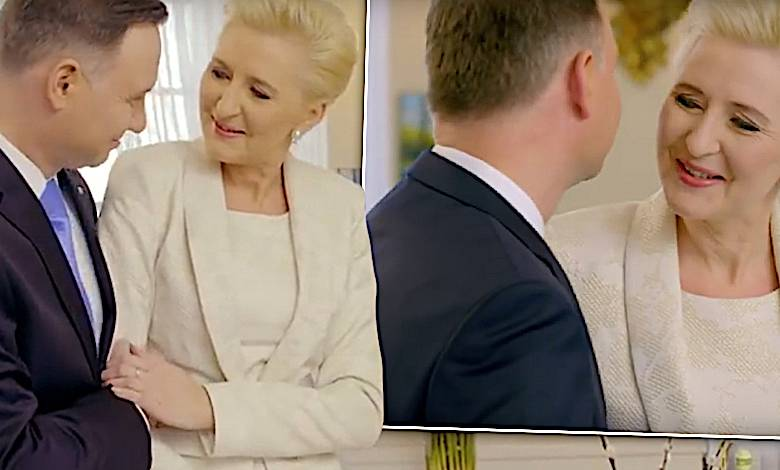 Agata Duda i Andrzej życzenia Wielkanocne