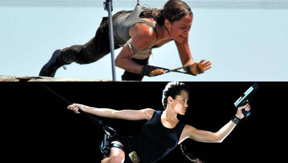 Angelina Jolie kontra Alicia Vikander – która jest lepszą Larą Croft?