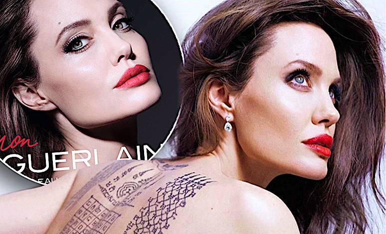 Angelina Jolie reklama perfum