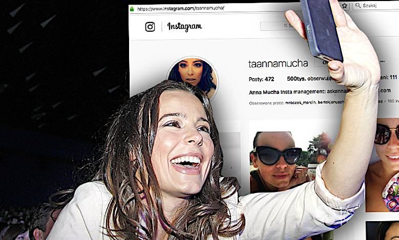 Anna Mucha Instagram ile fanów