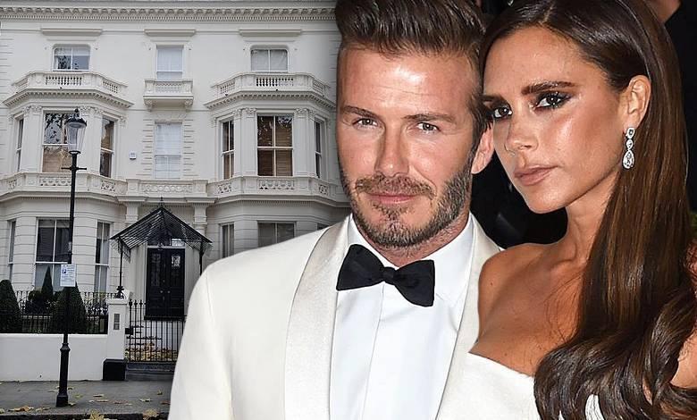 David i Victoria Beckham dom jak mieszkają