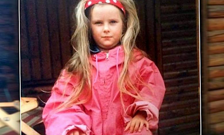 Laura Breszka zdjęcia z dzieciństwa
