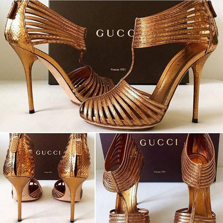 Buty Gucci 2,290zł- Natalia Siwiec wyprzedaje szafę fot. depop
