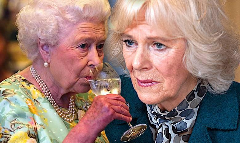 Królowa Elżbieta II i księżna Camilla