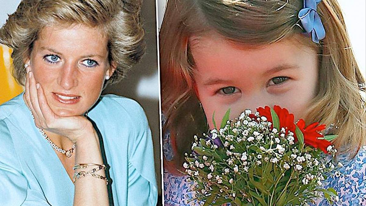 Księżna Diana, księżniczka Charlotte