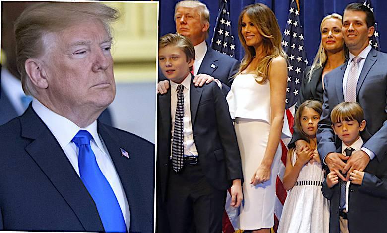 Donald Trump rodzina