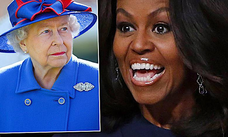 Królowa Elżbieta II, Michelle Obama