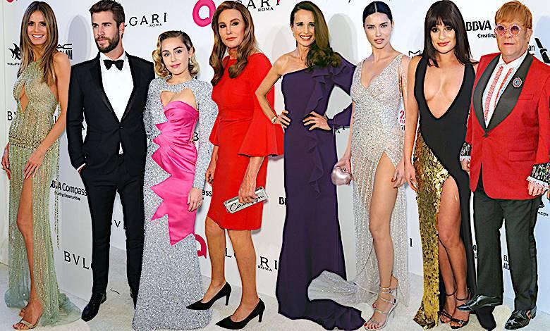 Gwiazdy Elton John Oscary 2018