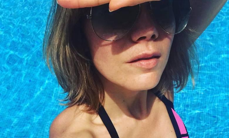 Olga Bołądź w bikini