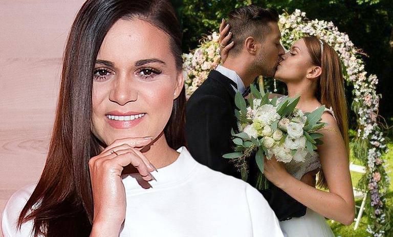 Dominika Gawęda komentuje ślub