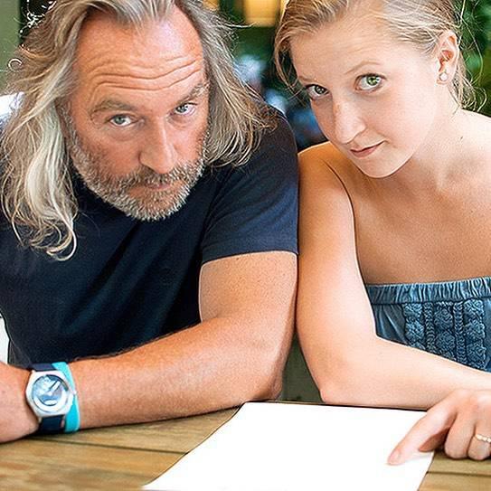 Lara Gessler z ojcem Piotrem