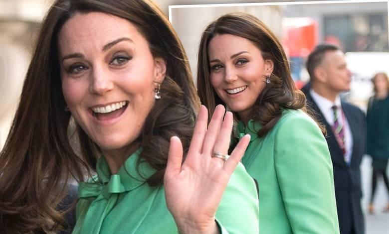 Księżna Kate w ciąży na sympozjum w Londynie